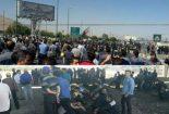 انتقاد از برخورد با کارگران آذر آب وهپکو/نیروی کار آشوبگر نیست