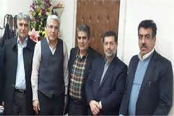 دیدار صمیمانه ، اعضای هیات مدیره کانون انجمن های صنفی سراسری مرتعداران ایران با  مدیر کل سازمان های کارگری و کارفرمایی